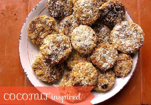 кокосовое печенье  для детей сыроедческое веганское