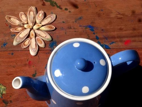 Травяной чай лемонграсс и мята | Herbal tea lemongrass+mint