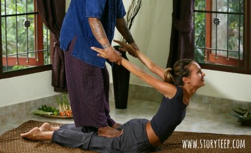 аутентичный лечебный тайский массаж нуад боран Authentic healing Thai massage nuad boran นวดแผนโบราณ1