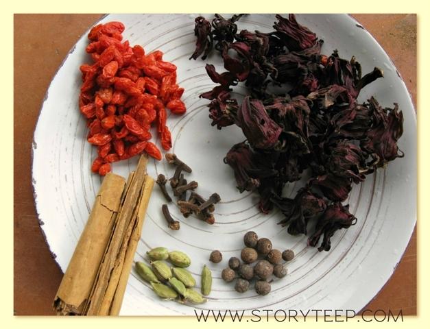 -чай для лечения обновления сердечнососудистой системы H. sabdariffa Var. sabdariffa сорта ruber  - Розелла (разновидность гибискуса) (3)