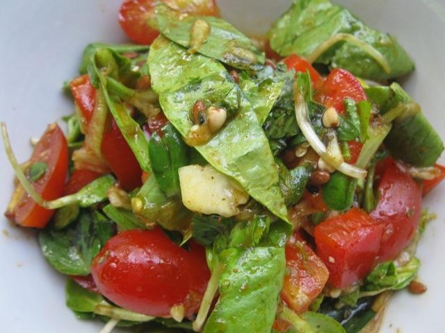 салат Прекрасный Зелёный-