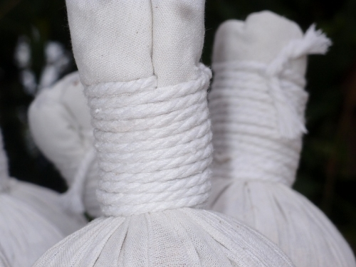 110Мешочки с травами для тайского массажа Thai massage herbal bag