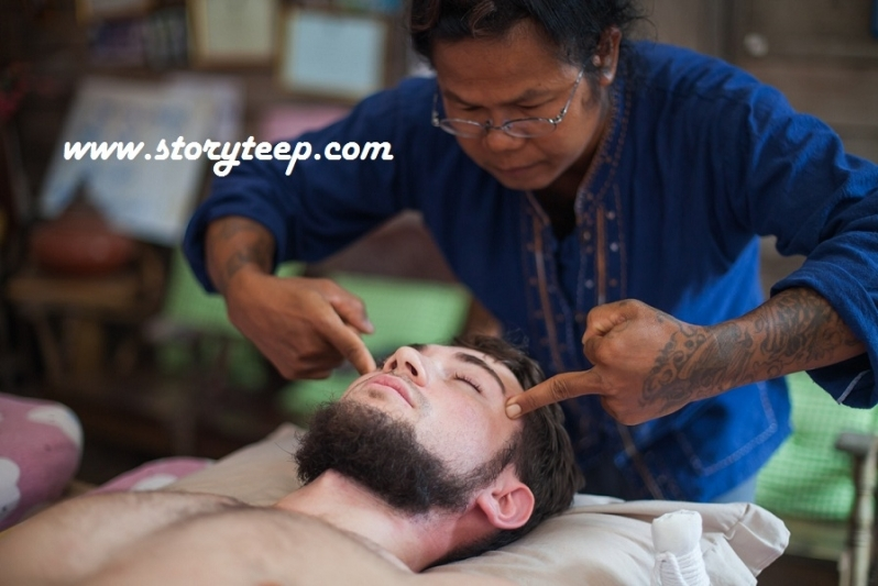 2 Аутентичный Тайский массаж  Authentic Thai massage www.storyteep.com
