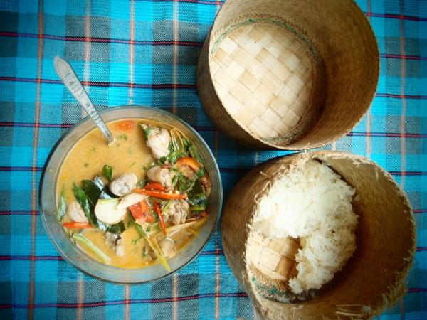 клейкий / липкий рис | пошаговый рецепт том-яма с фотографиями
