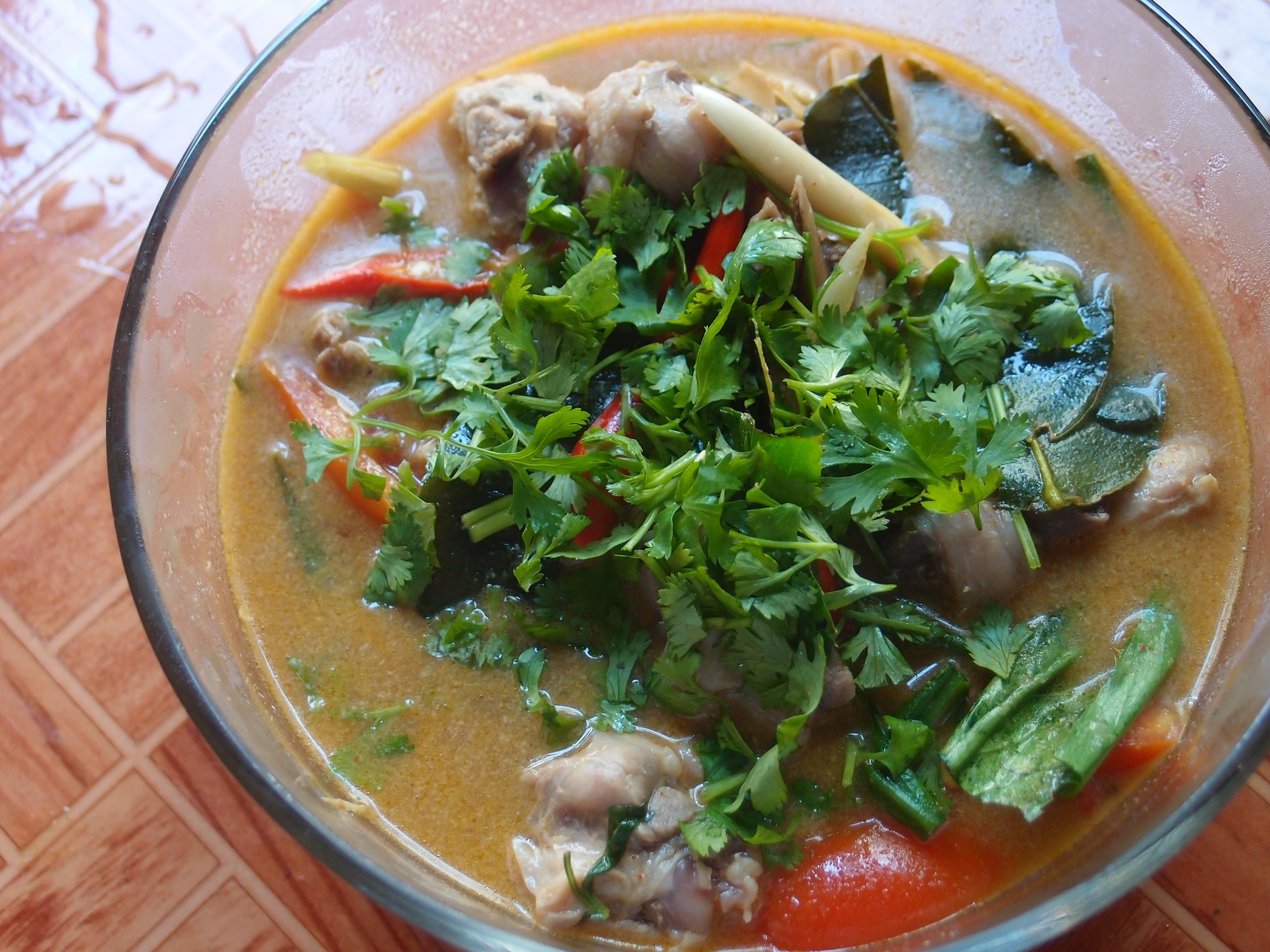 TOM YUM CHICKEN том ям с курицей пошаговый домашний рецепт с фотографиями